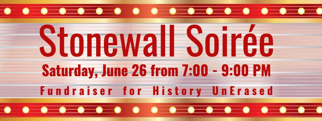 Stonewall soiree fundraiser