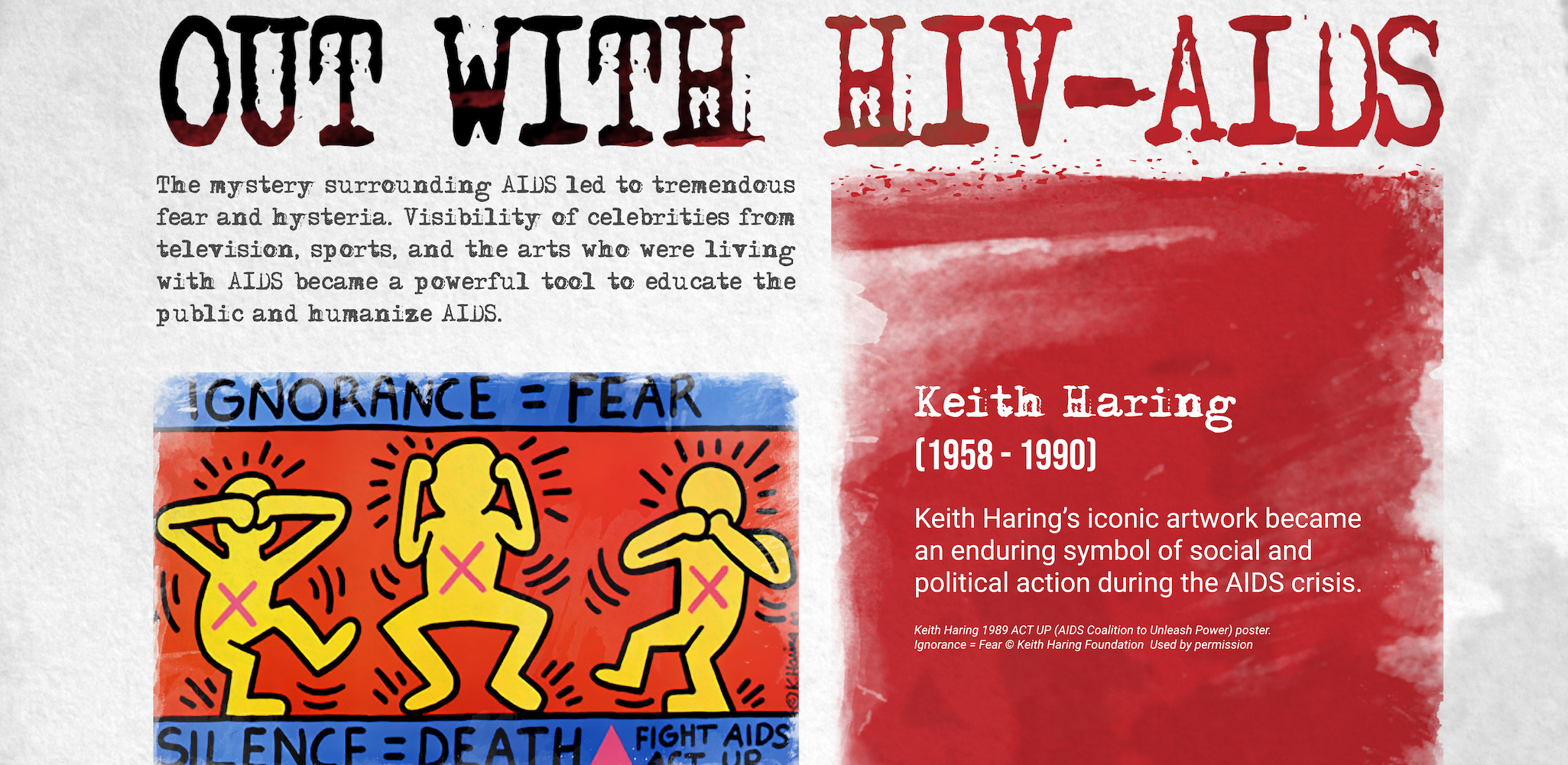 OUT with HIV/AIDS case study cover image