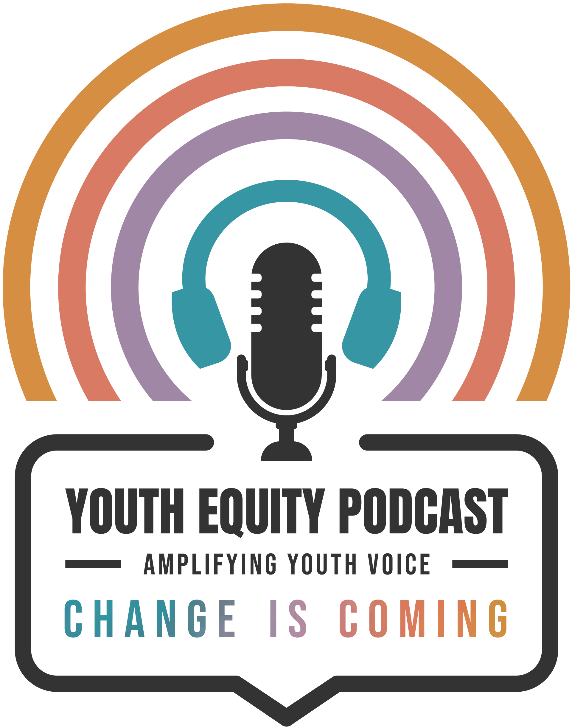 Youth equity podcast logo
